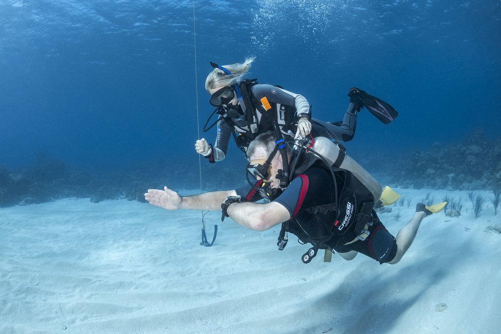 teachingunderwaternavigation - Teaching Scuba Diving